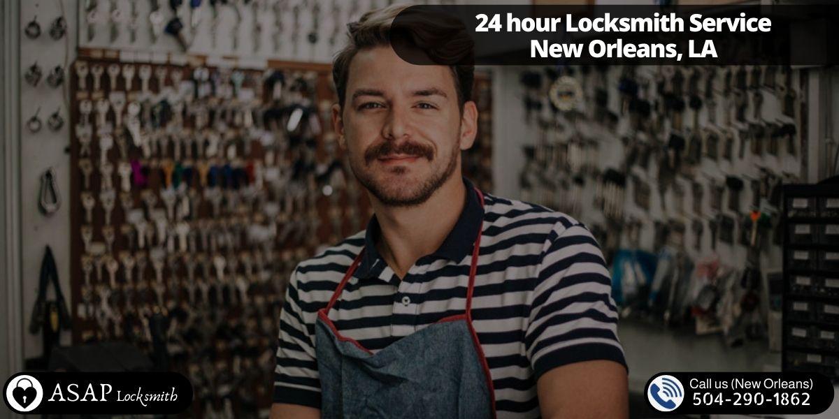 24 hour Locksmith Service New Orleans, LA